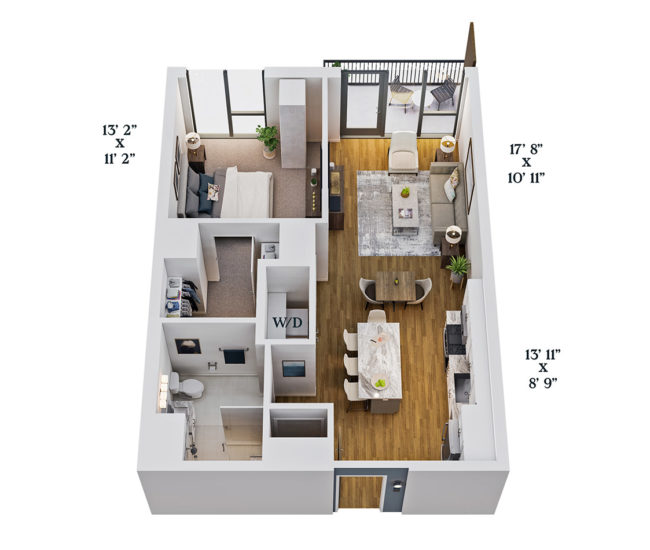 One Select Unit Layout