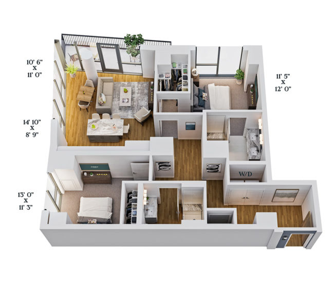 Two Select Unit Layout